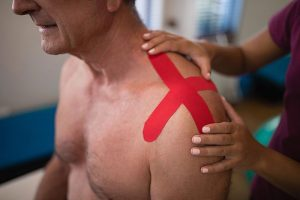 Kinesio Taping K Tape Circulation Support Stimulation Healing Urgent Care Chiropractic